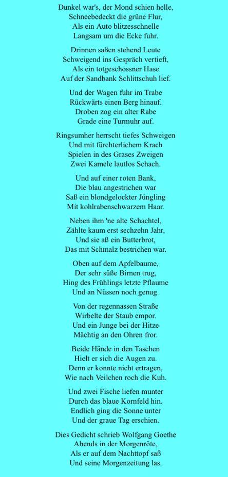 Dunkel War S Der Mond Schien Helle Johann Wolfgang Von Goethe Spruche Liebe Spruch Johann Wolfgang Von Goethe
