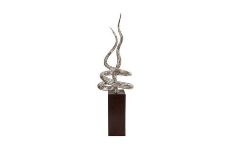 ID78265 / Serpin Scupture, Stainless Steel