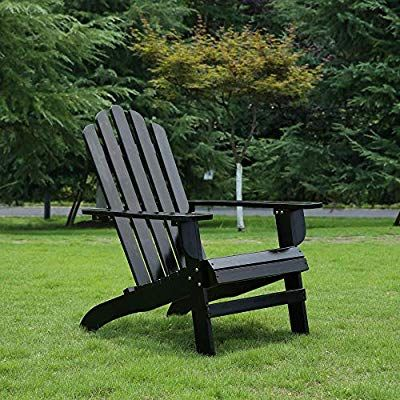 Amazon Com Azbro Songsen Outdoor Wooden Fashion Adirondack Chair
