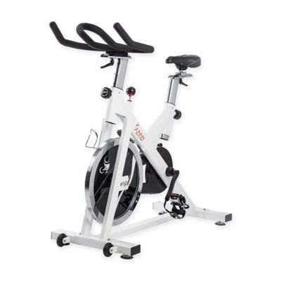 Indoor Cycling Bike In White With Images Indoor Cycling Bike Cycling Bikes Biking Workout