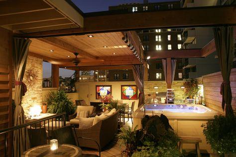 maksimalkan rumah kecilmu dengan rooftop minimalis