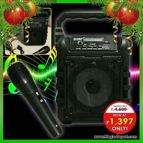 Portable Mini Bluetooth Karaoke Speaker with Mic | Karaoke
