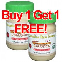 Canadian Raw Honey 17 6 Oz Buy 1 Get 1 Free Hurry Sale Ends