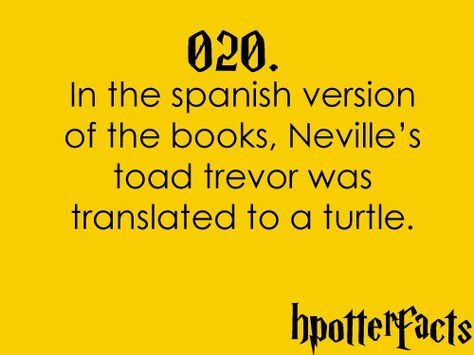 Harry Potter Fact 020