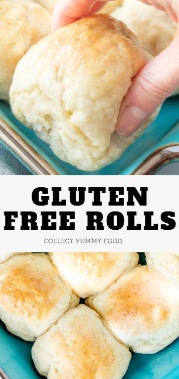 Gluten Free Rolls Dairy Free Option In 2020 Gluten Free Dairy Free Recipes Gluten Free Rolls