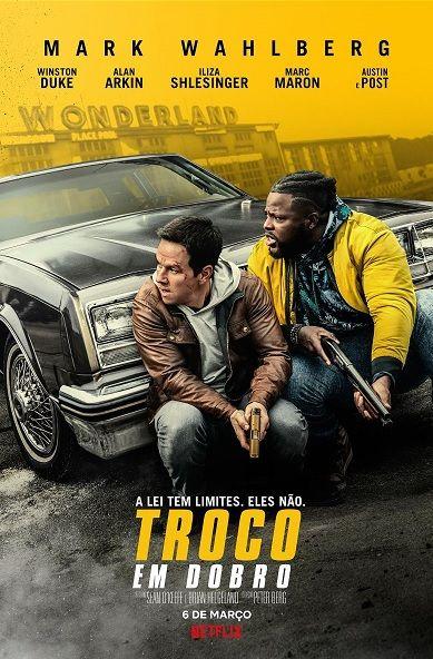 Mark Wahlberg E Winston Duke No Trailer De Troco Em Dobro Ao Lado