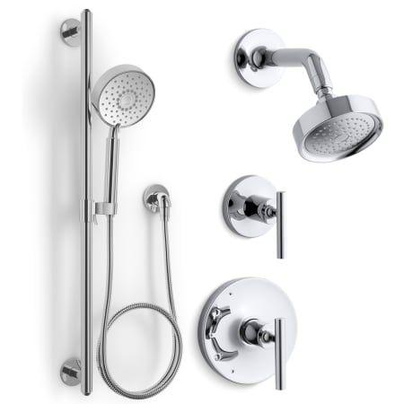 Kohler Kss Purist 4 Rths Shower Systems Shower Heads Shower Arm