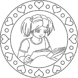 Mandala Madchen Ausmalbilder Kinder Ausmalbilder Mandala Bilder