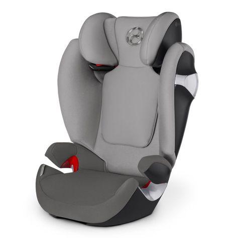 Cybex Autostoel Solution M Manhattan Grey Mid Grey Autostoel Autostoeltjes Kinderwagen