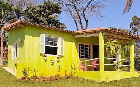 20 Fotos E Ideas Para Pintar La Fachada De Una Casa Mil Ideas De Decoracion Fachada De Casa Casas Fachadas De Casas Modernas
