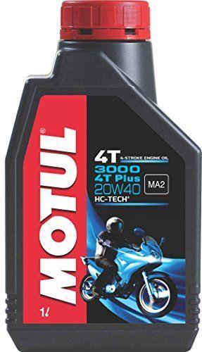 Buy Motul 3000 4t Plus 20w40 Hc Tech Engine Oil For Bikes 1 L