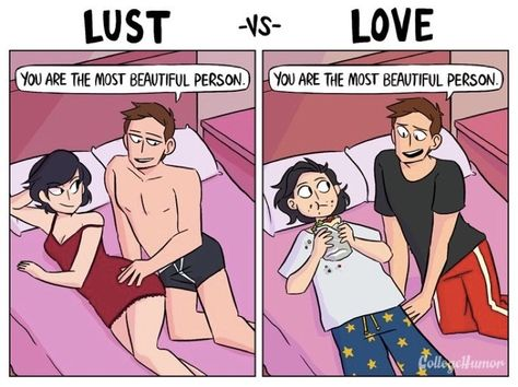 Do you know the difference between lust and love? These 4 endearing comics can help.