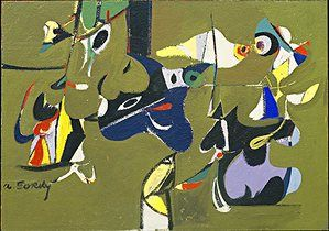 Arshile Gorky Art Life And Legend At Tate Modern Art Museum