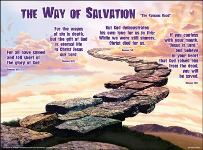 Way of Salvation, Laminated Wall Chart - | Christian posters, Salvation,  Laminate wall