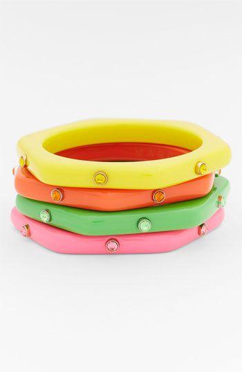 Puffy Plastic Bolt Bangle bracelet Marc Jacobs lYpKLuXY