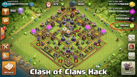 gems clash of clans hack android