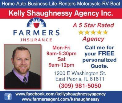 Farmers Insurance Quote Kelly Shaughnessy Agency For Farmers Insurance In East Peoria Il .