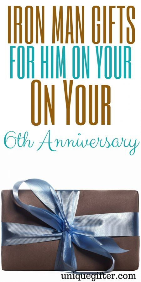 20 Iron Man Gifts To Get Him On Your 6th Anniversary Unique Gifter In 2020 Iron Man Gift Birthday Presents For Men Mens Anniversary Gifts