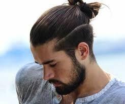 Resultado De Imagen Para Motilado Para Hombre Cabello Largo Man Bun Hairstyles Hair Styles Man Ponytail