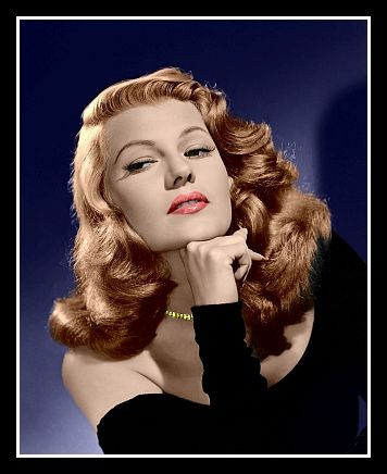 Rita Hayworth Colorized Photo - 1946 Gilda - $5.95