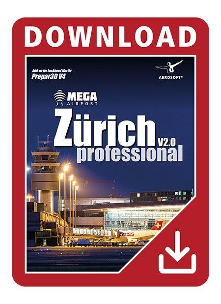 AEROSOFT : Mega Airport Zurich V2 0 professional The Airport
