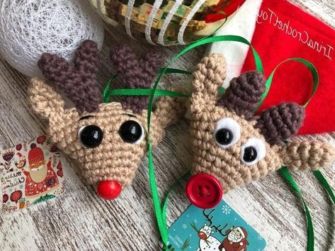 Amigurumi Crochet Christmas Softies Toy Free Patterns (With images ... | 354x473