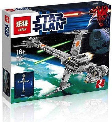 Lepin 05045 B Wing Starfighter Ucs Starwars Brick Lepin Starfighter Lego Star Wars Lego Star Wars Sets