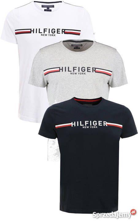 mejor precio diseño profesional última selección de 2019 Tommy Hilfiger t-shirt koszulki męskie NOWOŚĆ TYLKO HURT ...
