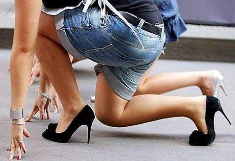 CUCINA ALLA MODA: #CORSA SUI #TACCHI: EVENTO AL #FEMMINILE