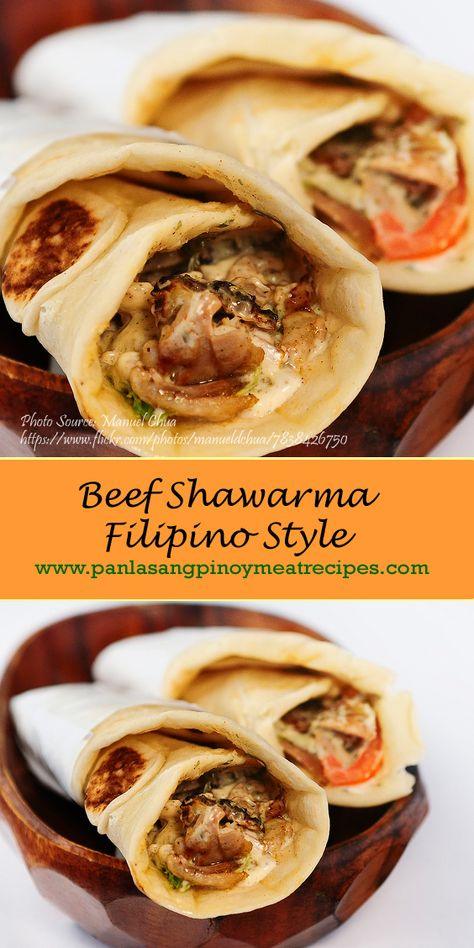How to Cook Beef Shawarma Filipino Style | Recipe | Food ...