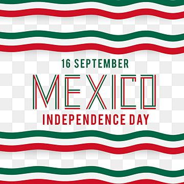 Happy Mexico Independence Day 16 September With Flag Shaped Text Mexico Mexico Banner Event Png And Vector With Transparent Background For Free Download Print Design Template Independence Day Graphic Design Templates