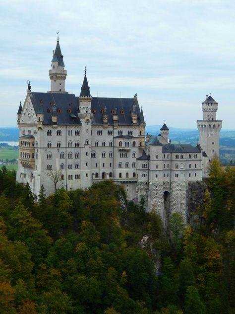 Postcards from Abroad: Neuschwanstein Castle