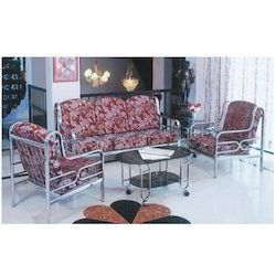 Stainless Steel Sofa Set Luxury Furniture Design Steel Sofa Sofa Set