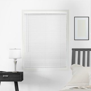 Chicology Cordless Venetian 1 Inch Slat Vinyl Mini Blinds In 2020 Mini Blinds Vinyl Mini Blinds Blinds For Windows