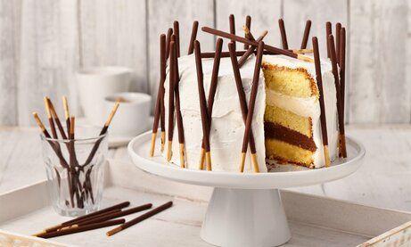 Kleine Mikado Torte Rezept Torten Rezepte Kuchen Ideen Und Torten