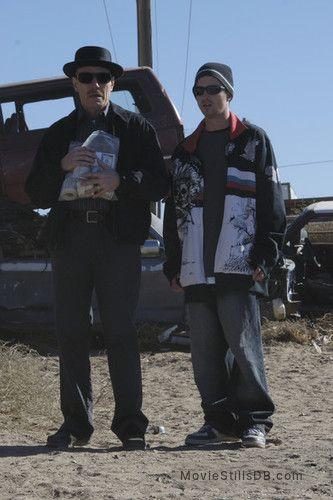 Breaking Bad - Episode 1x07 publicity still of Bryan Cranston & Aaron Paul