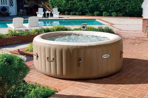 25+ parasta ideaa Pinterestissä Whirlpool outdoor aufblasbar L - garten pool aufblasbar