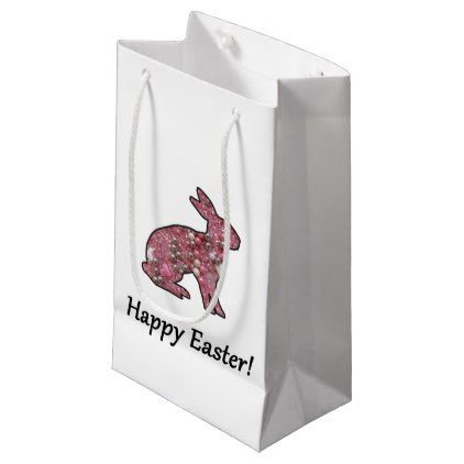 Happy easter double sided small gift bag negle Image collections