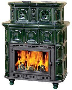 Piec Kaflowy Salzbourg O Mocy 14kw Ecodesign Zielony Stove Fireplace Architect Fireplace
