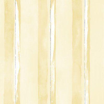 Galerie Wallcoverings Watercolor Stripe 33 L X 21 W Wallpaper