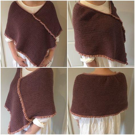 Crochet Club: Springtime crochet poncho on the LoveCrochet blog