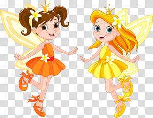 Two Fairies Illustration Tooth Fairy Disney Fairies Pretty Flower Fairy Transparent Background Png Clipart Fairy Illustration Fairy Cartoon Clip Art