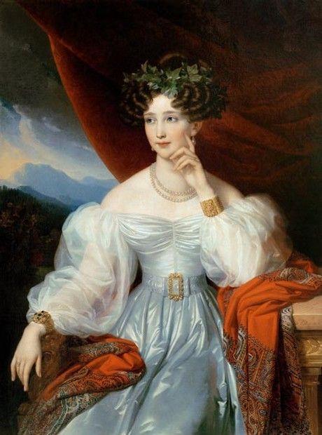 Prinzessin Sophie Friederike Von Bayern 1805 1872 Tochter Des Konigs Maximillian I Joseph Von Bayern Und Seiner Zweiten Ga Portratmalerei Kunstdruck Herzog