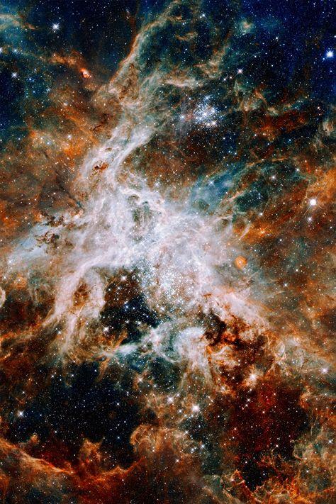 different shot of the Tarantula Nebula
