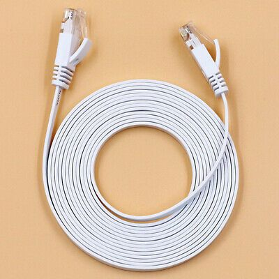 Details About Rj45 Cat6 Network Lan Cable Gigabit Ethernet Fast