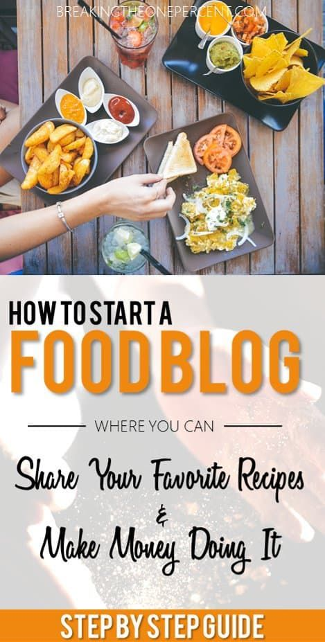 How To Start A Blog In 10 Easy Steps Food Blog Food Healthy Food Blogs