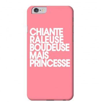 La coque que toutes les princesses doivent avoir ! Disponible pour iPhone et Samsung seulement chez Madametshirt.com - La livraison est gratuite en France