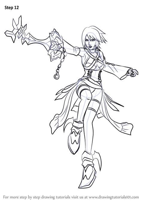 How To Draw Aqua From Kingdom Hearts Drawingtutorials101 Com