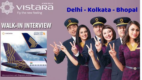 Vistara Cabin Crew Interview In 2019 For Fresher Walk In Interview Airline Jobs Cabin Crew Singapore Airlines