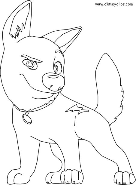 Bolt Coloring Pages | Disney Coloing Pages | Pinterest | Birthdays ...